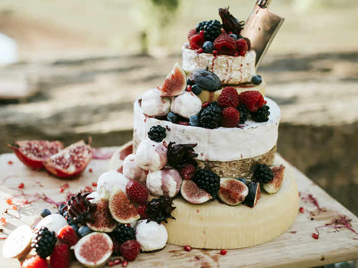 Cheese & Berry Platter